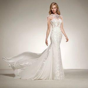 e1632f3097 ... NWT-220-BHLDN-Catherine-Deane-Bridal-Itala-Top-. Pronovias Dresses - Wedding  Dress Topper.